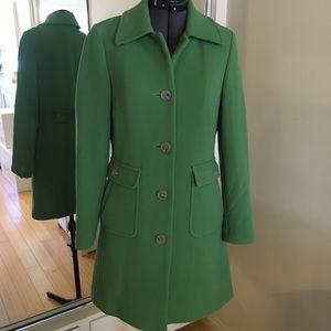 J Crew spring green trench coat 🧥